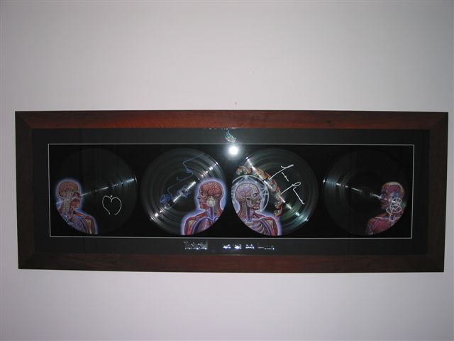 Michaels framed Lateralus Vinyl